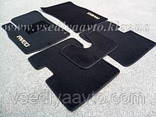 Ворсовые коврики в салон CHEVROLET Aveo с 2002-2012 гг. (Черные)