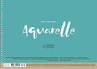 Альбом для акварели MUSE Aquarelle A4 (21х29.7см) 220 г/м2 20 листов