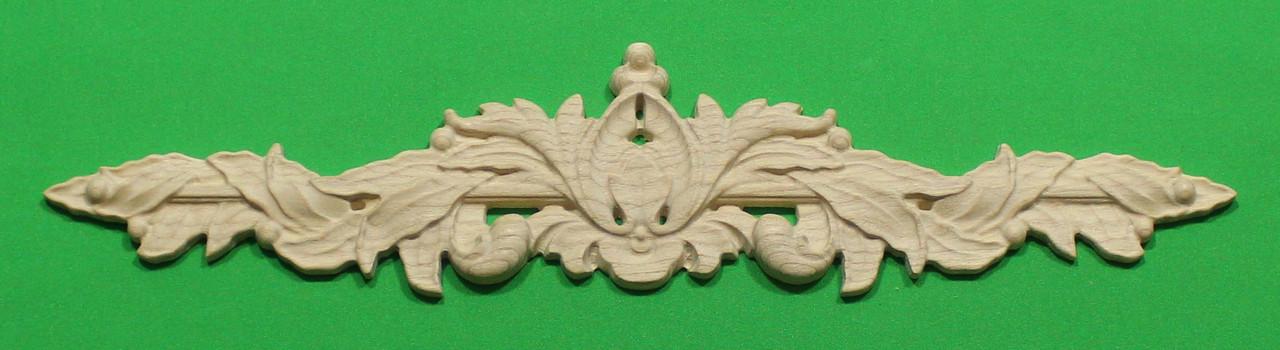 Код ДГ17.Деревянный резной декор для мебели. Декор горизонтальный