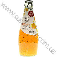 Напиток апельсиновый Luck Siam с семенами базилика 290мл