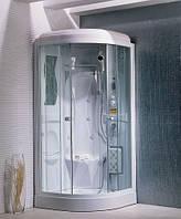 TS-33W Гидромассажная угловая кабина на мелком поддоне 950*950*2200