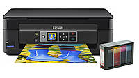 МФУ Epson Expression Home XP-352 с СНПЧ Hightech