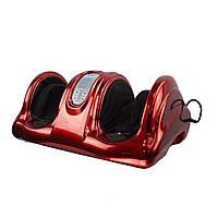 🔝 Электромассажер, foot massage, Цвет - красный, японский массажер для ног   🎁%🚚