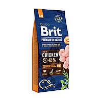 Brit Premium Dog Senior S+M 15kg