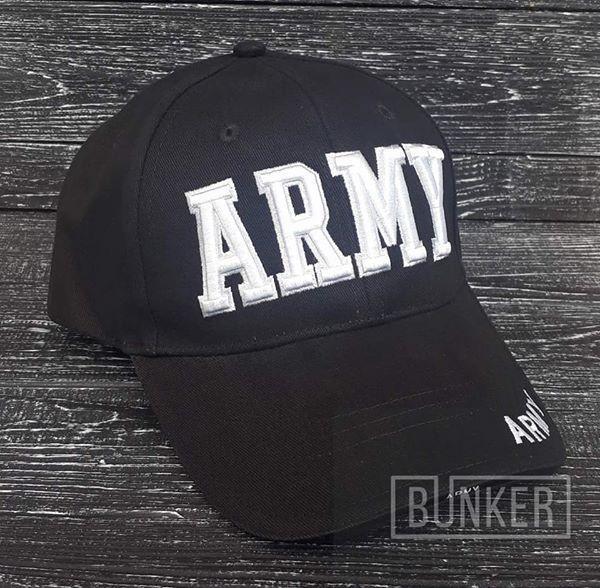 Бейсболка ARMY by MILTEC черная, фото 1
