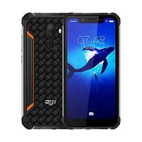 """Защищенный смартфон Zoji z33 orange IP68 (2SIM) 5.85"""" 3/32GB 13/16+2Мп 3G 4G оригинал Гарантия!"""
