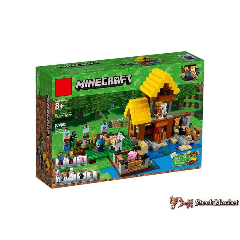 "Конструктор ""Фермерский коттедж"" Minecraft 10813 560 деталей"