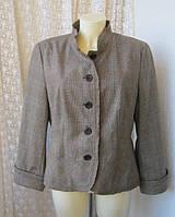 Жакет женский пиджак шерсть бренд S.Oliver р.48-50
