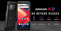 Защищенный смартфон Ulefone Armor X2 2/16 Gb Rose MediaTek MT6580 5500 мАч, фото 4