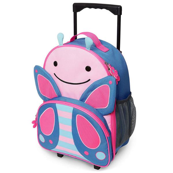 Skip Hop Детский чемодан на колесиках Бабочка Butterfly Kids Luggage With Wheels SKIP HOP 09388