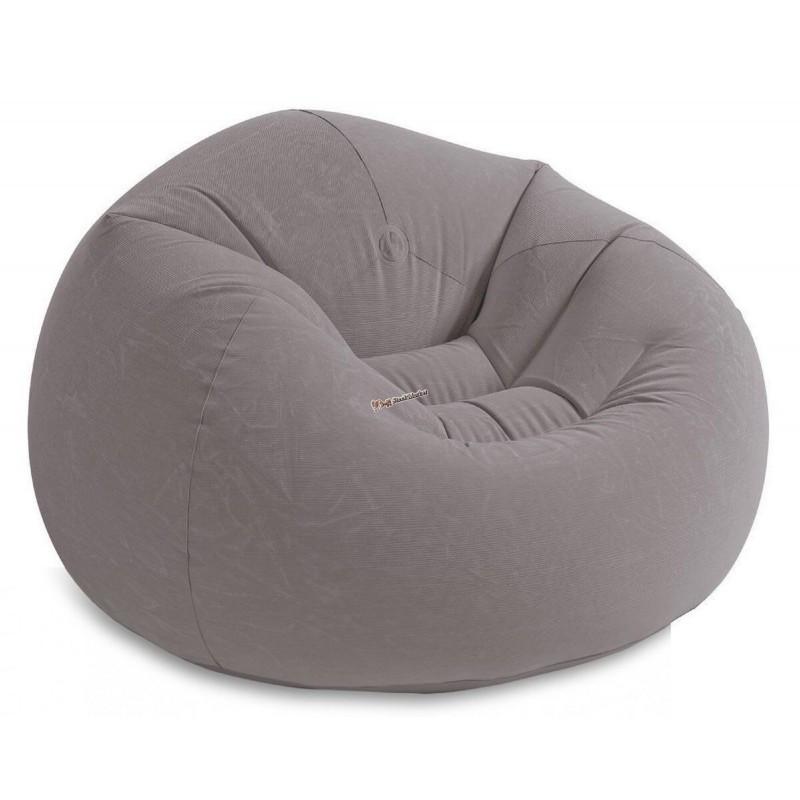 Надувной кресло-мешок Intex Beanless Bag Chair 68579 107x69см