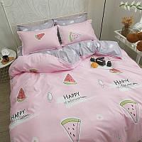 Комплект постельного белья Арбуз (двуспальный-евро)
