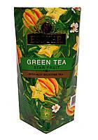 Чай зеленый с карамболем Esster Green Tea Star Fruit 100 г в подарочной картонной упаковке