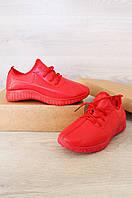 Кроссовки женские на меху красные размер 39 Lion 365-1
