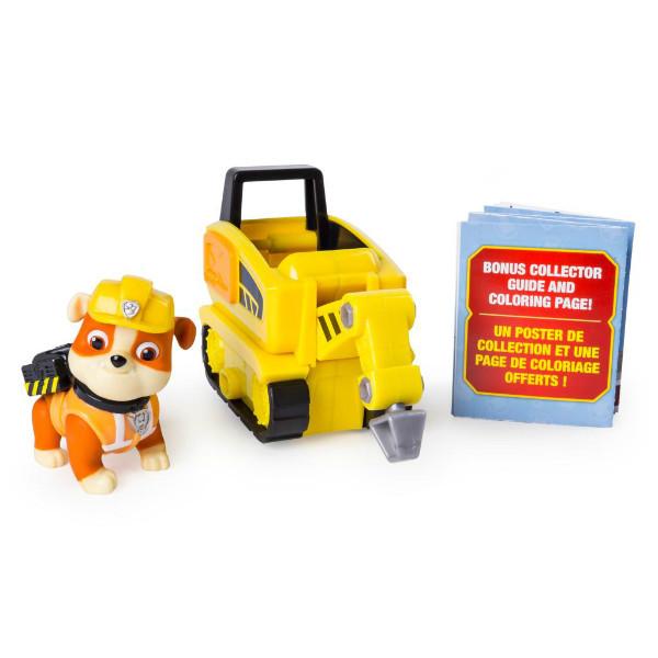 Paw Patrol Щенячий патруль Крепыш мини машинка перфоратор Ultimate Rescue Rubble's Mini Jackhammer Cart Spin Master 09450, фото 1