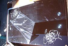 Стол ТВ 014 (без узора) (коричневый - шоколадный), фото 2