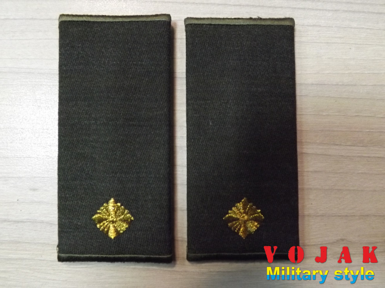 Погони-муфти ЗСУ Молодший лейтенант повсякдені (4305)