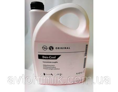 GM (General Motors) Dex-Cool LongLife Антифриз G12 червоний концентрат 5л. (1940678)