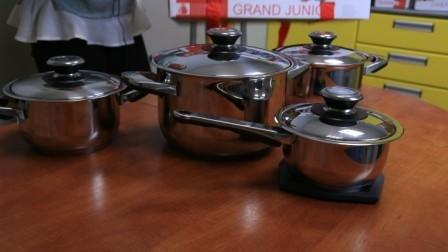 Набор посуды  Grand Junior 89039 9 пр.