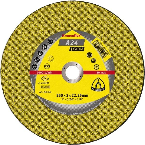 Відрізні круги Kronenflex® EXTRA/A24EX/S/GER/230X3X22,23