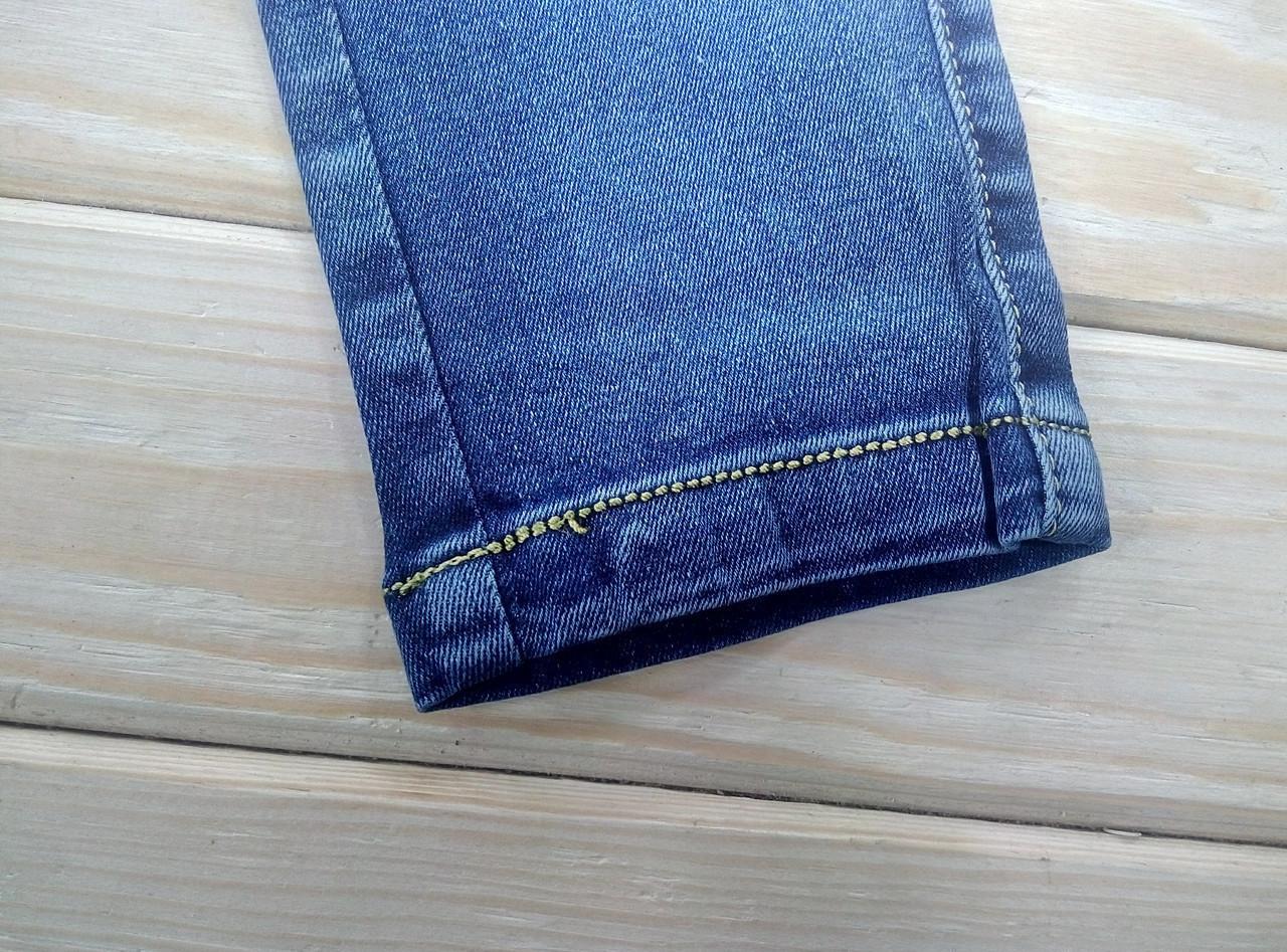1742029bd1e Женские джинсы демисезон синие KENALIN на шнурке с карманами 3XL 32 ЛЖД-21169