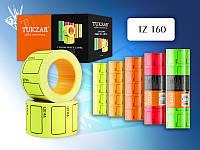 Ценник цветной флуоресцентный: 25,0x37,0 мм.