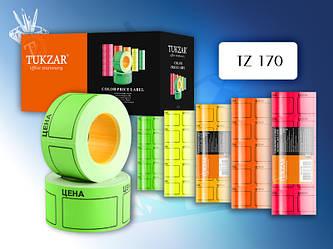 Ценник цветной флуоресцентный: 35,0x50,0 мм.