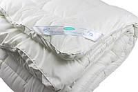 Одеяло закрытое однотонное искусственный лебяжий пух (Микрофибра) Полуторное T-55031