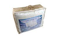 Одеяло закрытое однотонное искусственный лебяжий пух (Микрофибра) Двуспальное Евро T-55023