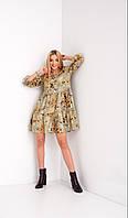 Платье женское Жадон оливкое