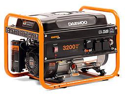 Бензиновый генератор Daewoo GDA-3500 (3,2 кВт, ручной стартер)