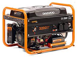 Бензиновый генератор Daewoo GDA-3500Е (3,2 кВт, электростартер)
