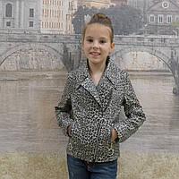 Курточка детская искусственная кожа, фото 1