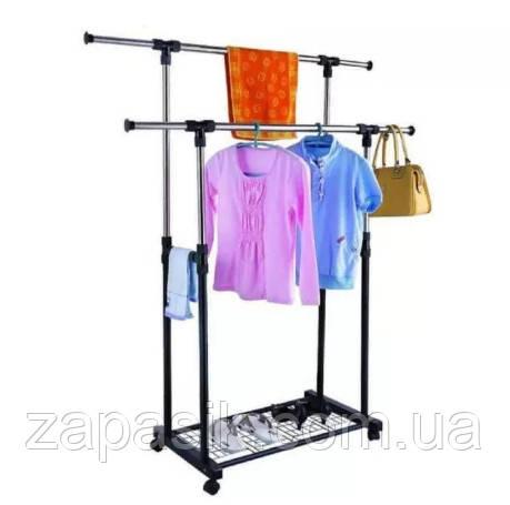 Вешалка для Одежды Shop Double Pole WJF001
