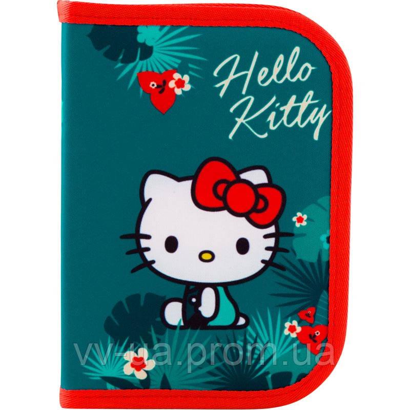 Пенал для школы 1 отд., 1 отв., без наполн. Kite Education 621 HK (HK19-621)