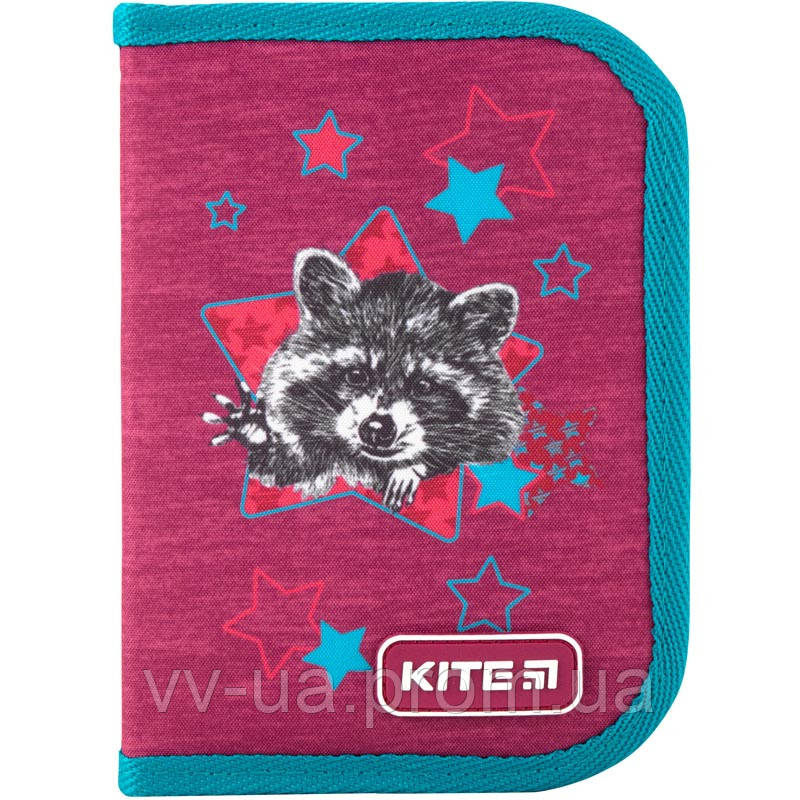 Пенал для школы 1 отд., 1 отв., без наполн. Kite Education 621-1 Fluff (K19-621-1)