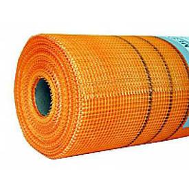 Сетка штукатурная Fiberglass 5*5 мм (1*50 м) 145'' оранжевая (кв.м)