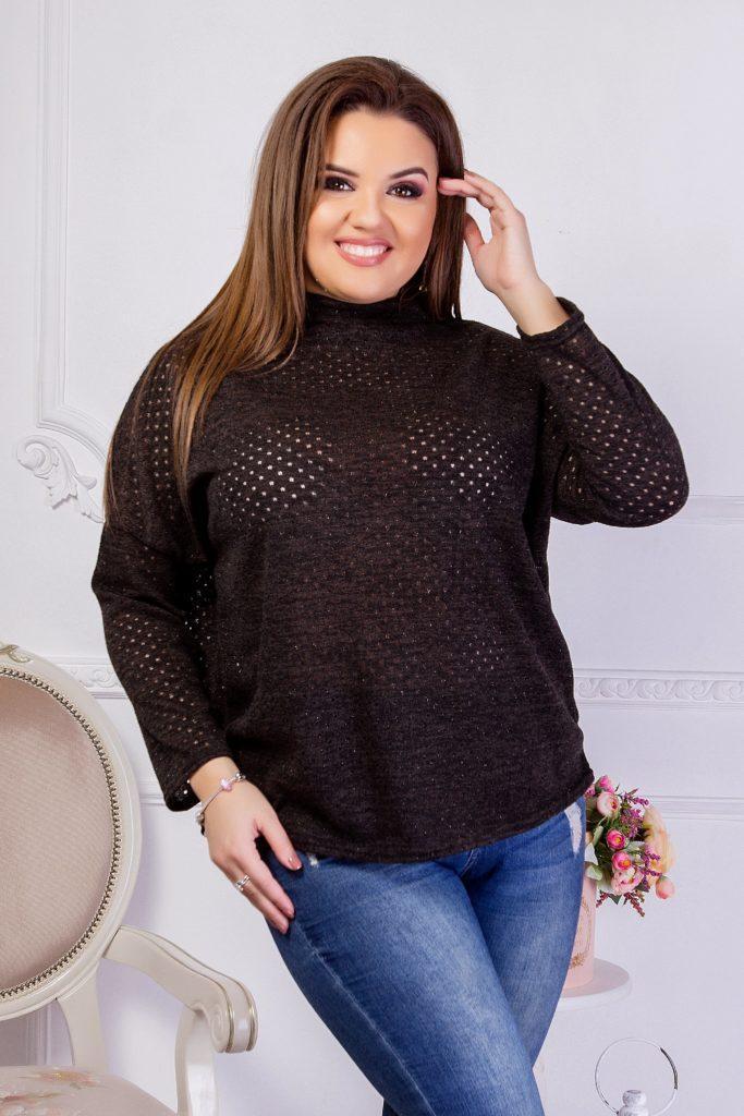 Женский трикотажный свитер 8279