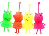 Іграшка дитяча игрушка детская игрушка антистресс 2122 свинка