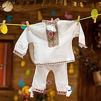 Вишитий костюм для хрестин (хлопчик), фото 1
