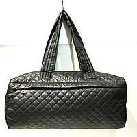 Стеганные сумки (черный)18*43см
