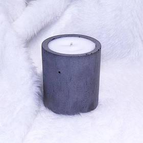Свеча декоративная ручной работы круглая