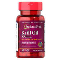 Puritan's Pride Red Krill Oil 500 mg 30 капсул