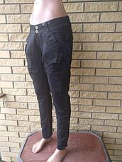 Джинсы женские стрейчевые, с подтяжками в комплекте MARDOC, Турция, фото 2