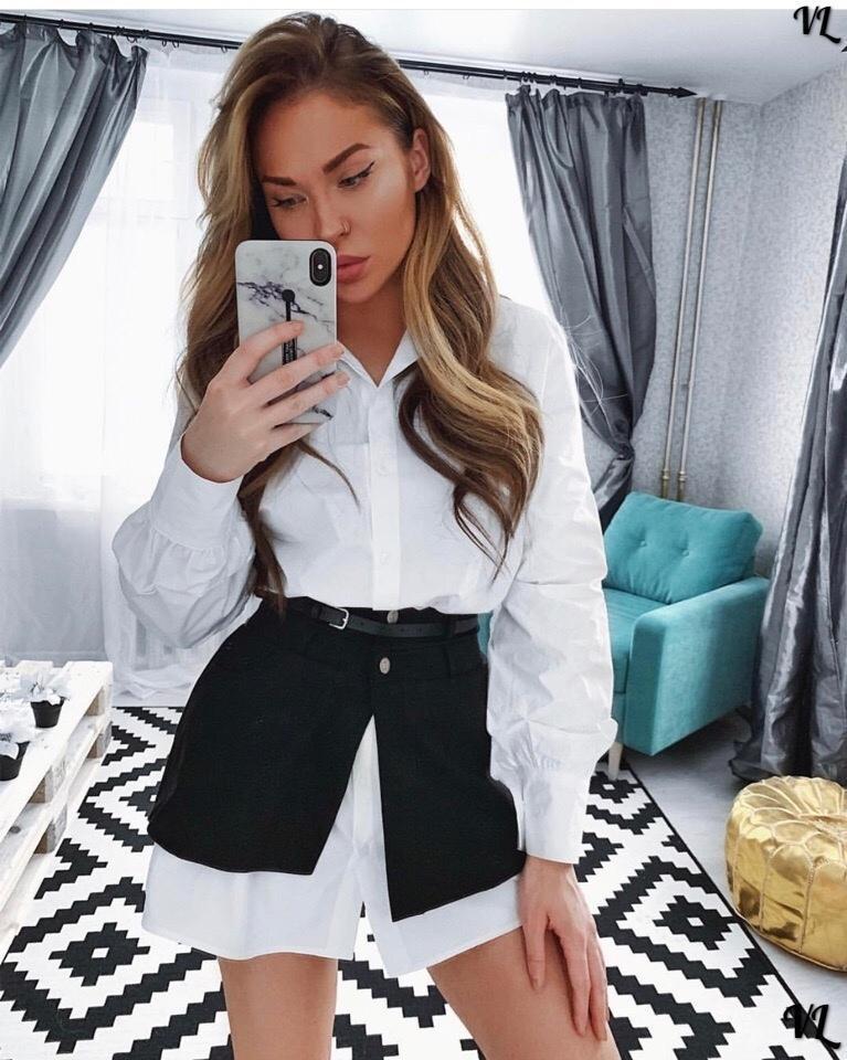 Удлиненная рубашка со съёмной «юбкой» с поясом. Размеры- 46,48 Ткань- тиар + коттон +пояс. Есть замеры