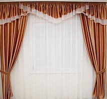 Пошив штор,ламбрекенов,кухонных занавесок 9