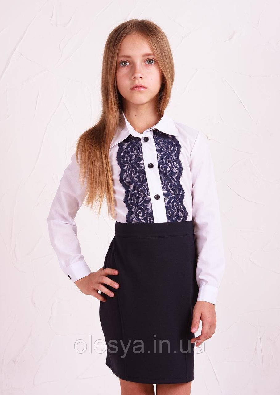 Рубашка №3 синее кружево Sofia Shelest