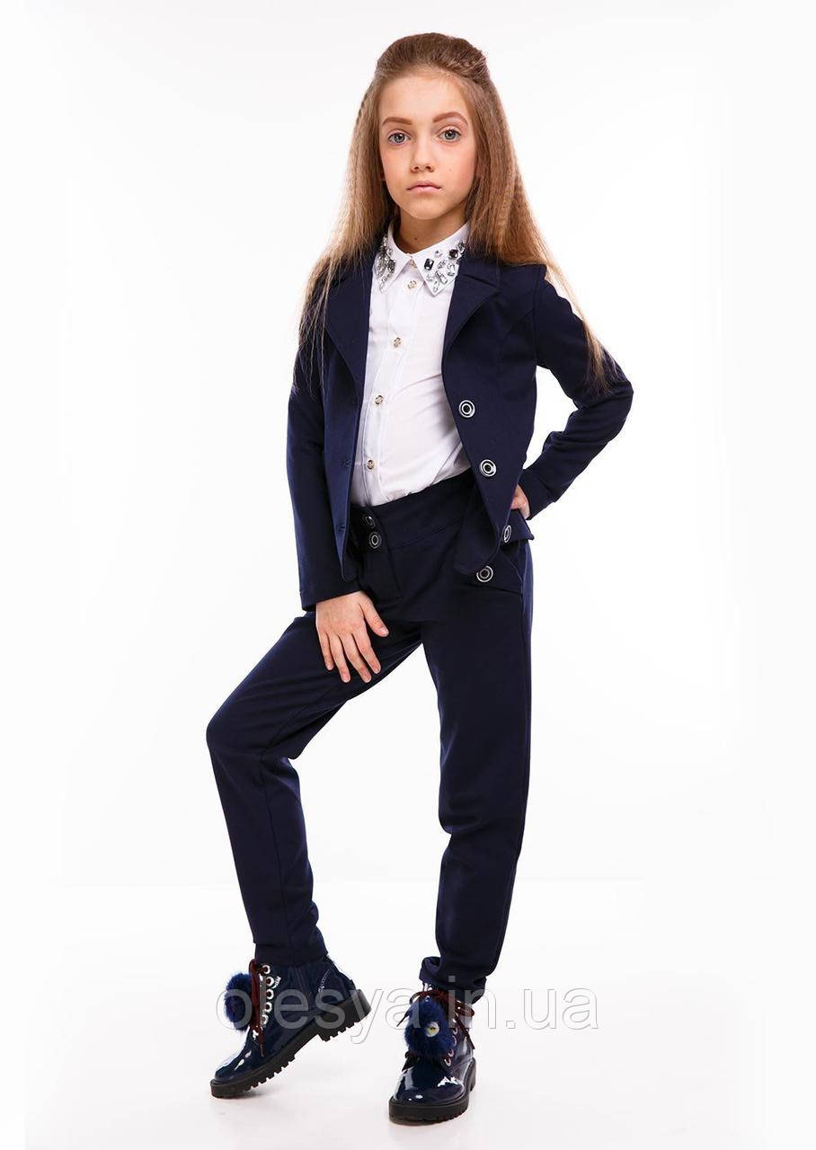 Костюм Лондон синий подросток Sofia Shelest Размер 146