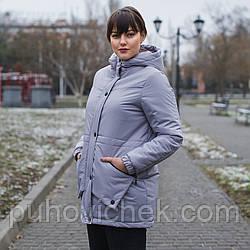 Стильные куртки женские весенние больших размеров