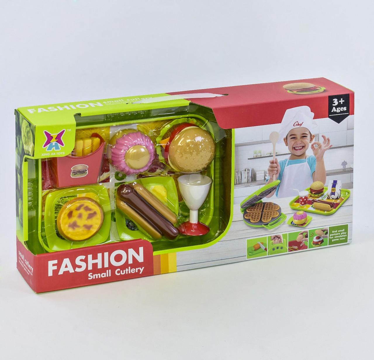 Набор продуктов Фаст-фуд 326 H-34, с вафельницей
